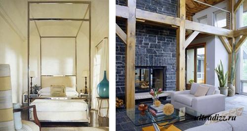 дизайн комнат с высокими потолками