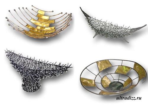 металлические блюда