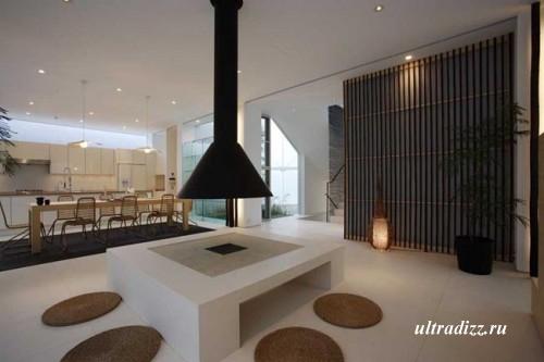 бамбук в дизайне интерьера
