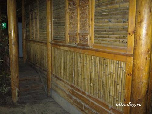 стеновая облицовка из бамбука
