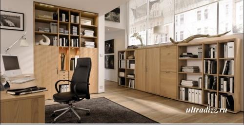 комфортный домашний кабинет