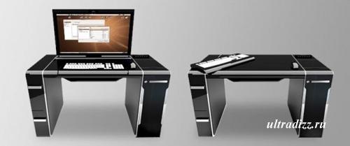 стильный современный компьютерный стол