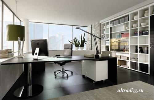 современный домашний офис