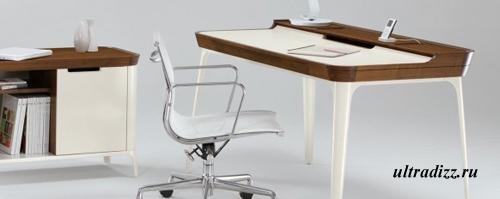 элегантная мебель для домашнего офиса