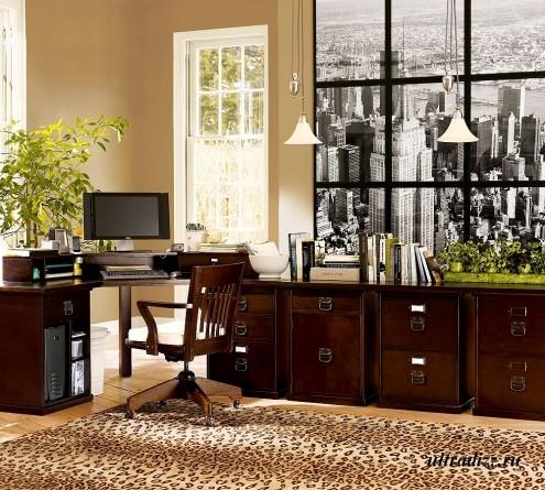 удобный домашний кабинет