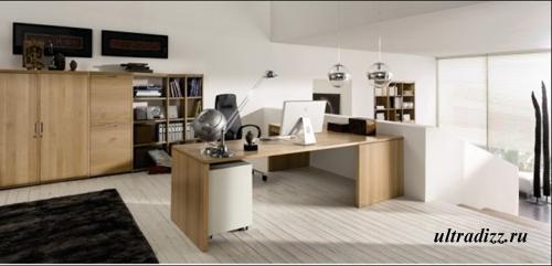 современный домашний кабинет