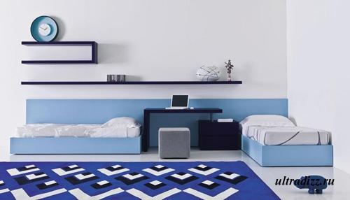 минимализм в комнате подростка