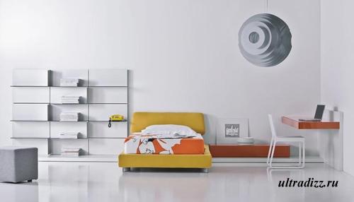 минимализм в дизайне интерьера подростка 7