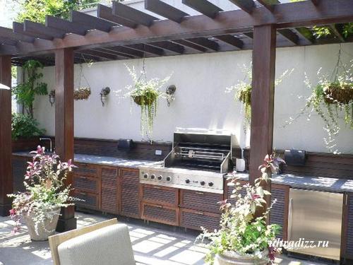 кухня летняя фото