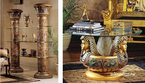 элементы дизайна в египетском стиле