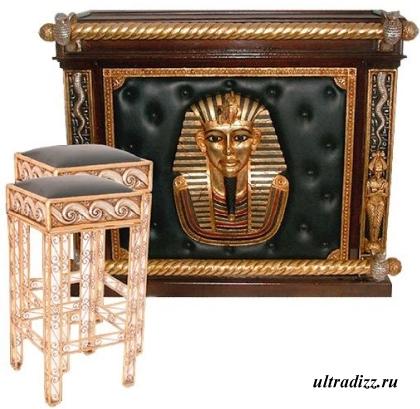 барная стойка в египетском стиле