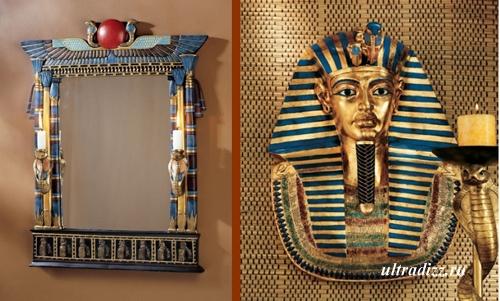 декор в египетском стиле