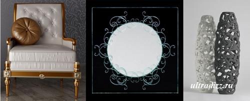 современные изделия в стиле барокко