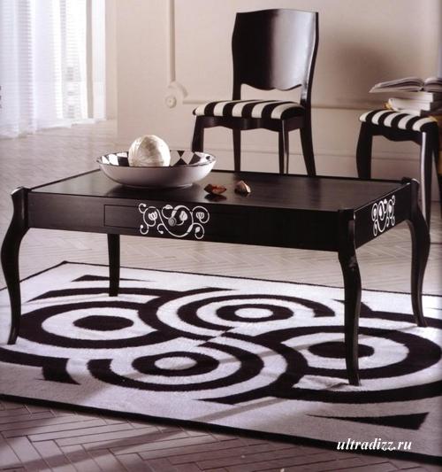 современный столик барокко