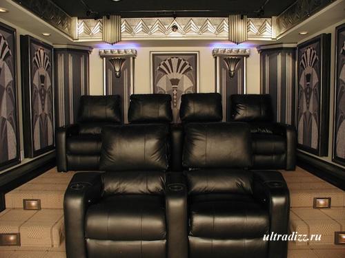 дизайн домашнего кинотеатра 2
