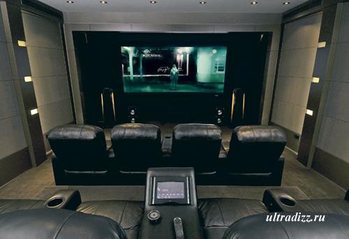 интерьер домашнего кинотеатра 1