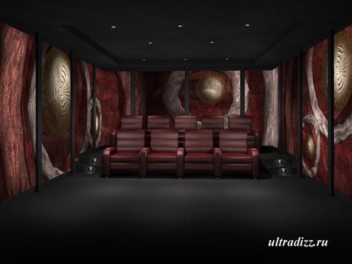дизайн домашнего кинотеатра 6