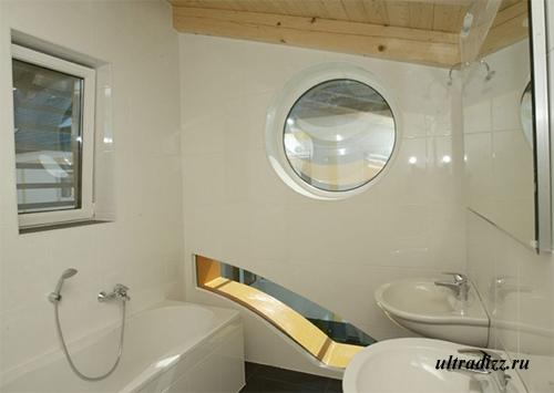 ванная в доме-автомобиле
