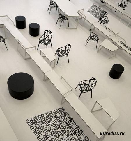 авангардный дизайн класса