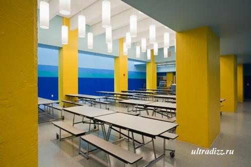 современный школьный класс