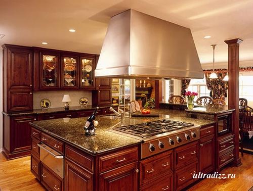интерьер кухни в тосканском стиле 4
