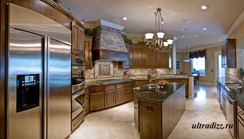интерьер кухни в тосканском стиле 9