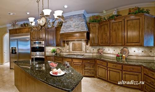 интерьер кухни в тосканском стиле 8