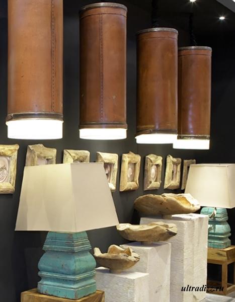 светильники в стиле кантри