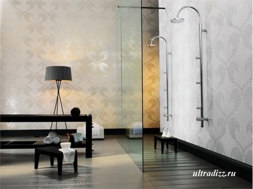 стильная мозаика в ванной