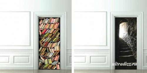 стикеры для межкомнатных дверей