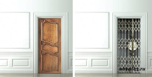 необычные стикеры для межкомнатных дверей