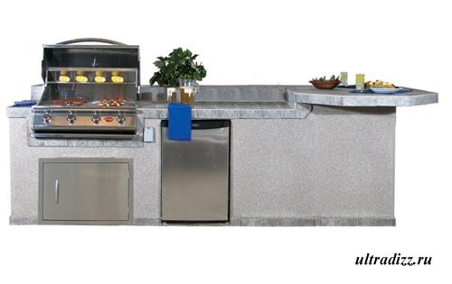 дизайн летней кухни 2