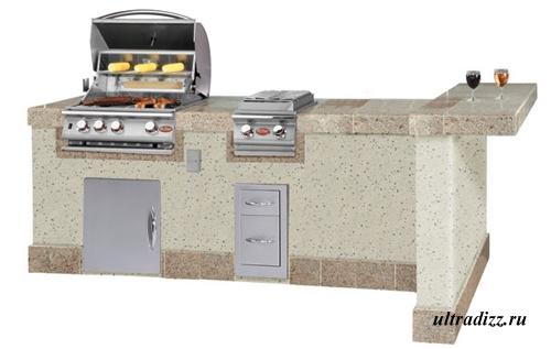 дизайн летней кухни 7