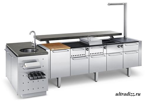 дизайн летней кухни 4