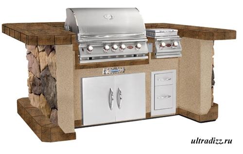 дизайн летней кухни 8