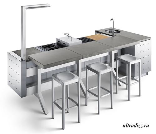 дизайн летней кухни 5