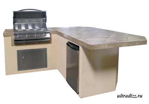 дизайн летней кухни 3
