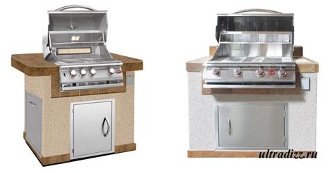 дизайн летней кухни 1