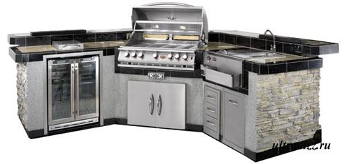 дизайн летней кухни 6