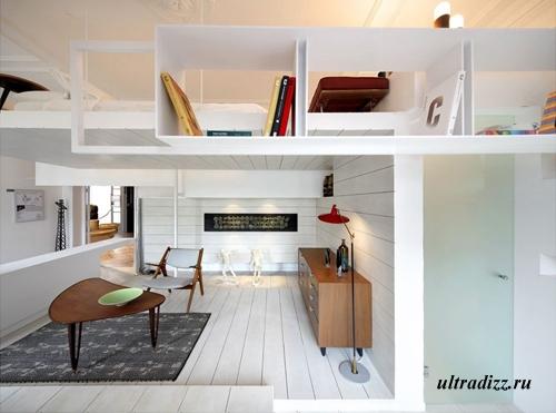 уникальный дизайн современного интерьера 3