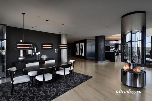 интерьер современного роскошного дома