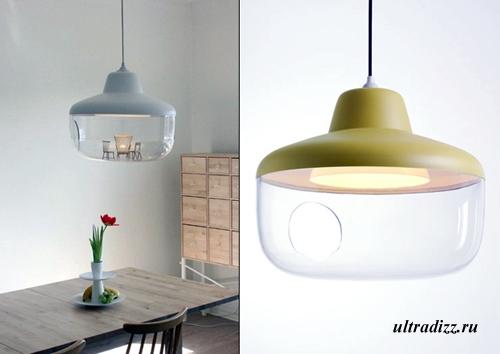 лампа с дисплеем