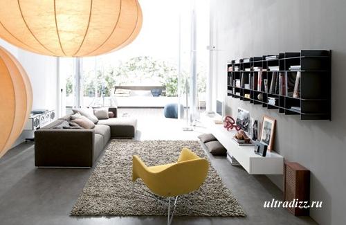 итальянская мебель в интерьере