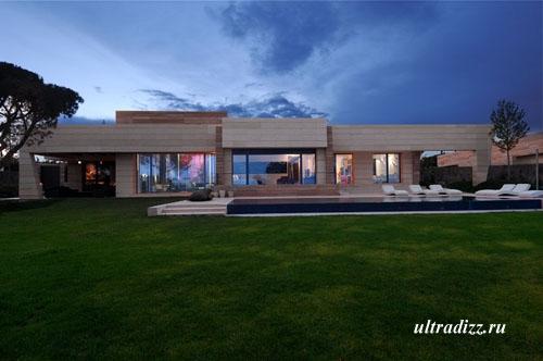 проект необычного дома в Мадриде