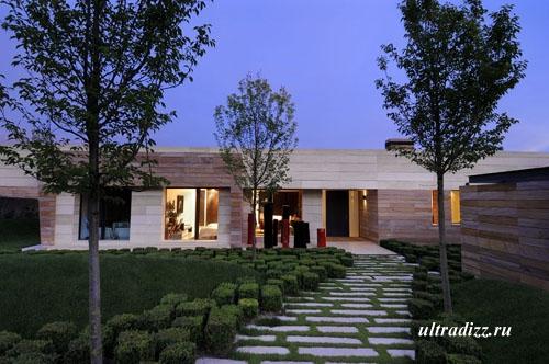 садовые дорожки современного стиля