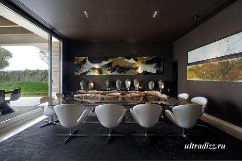 необычный дизайн столовой