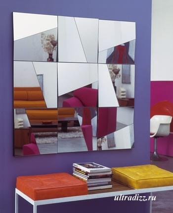 настенный зеркальный декор