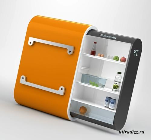 наружный холодильник Электролюкс