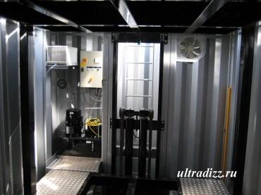 электрогидравлическая система подземного гаража