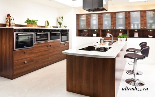 современная кухонная мебель 8